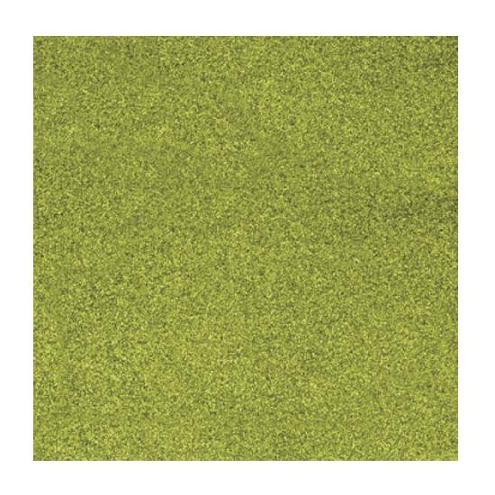 Scrapbooking papier grasgroen glitter (bron: Funenfeestwinkel)
