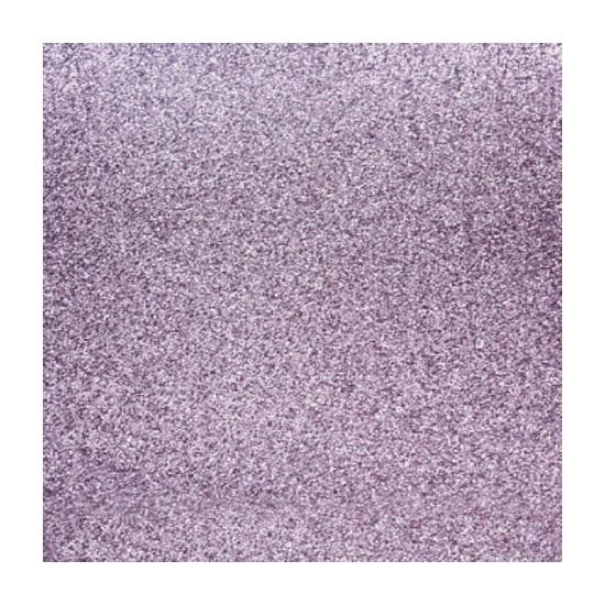 Scrapbooking papier lila paars glitter (bron: Funenfeestwinkel)