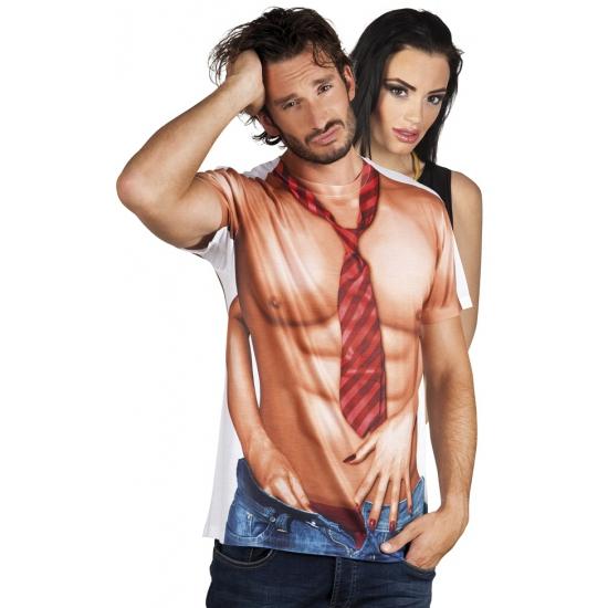Shirt met naakte man opdruk (bron: Funenfeestwinkel)