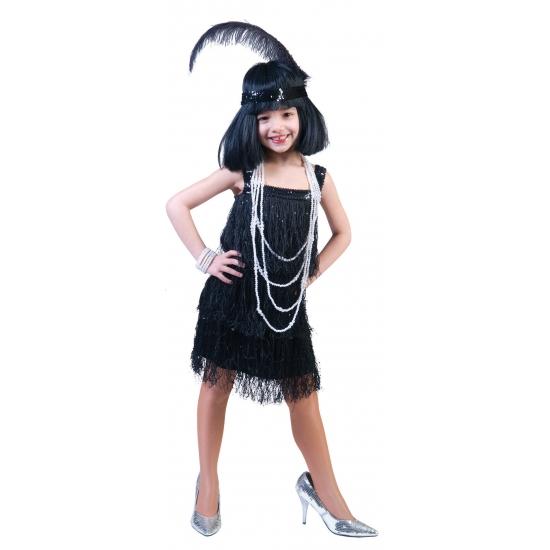 Showgirl jurkje voor meisjes (bron: Funenfeestwinkel)