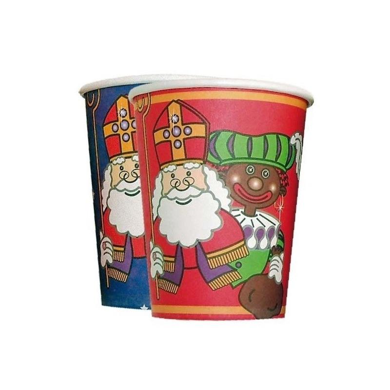 Sinterklaas kartonnen bekertjes thumbnail
