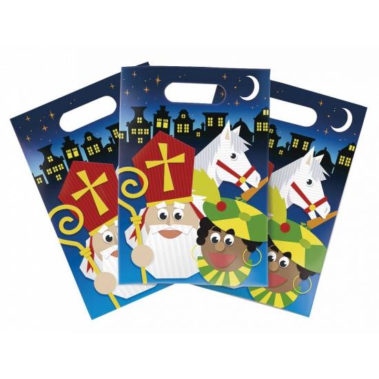 Sinterklaas partybags 6 stuks thumbnail