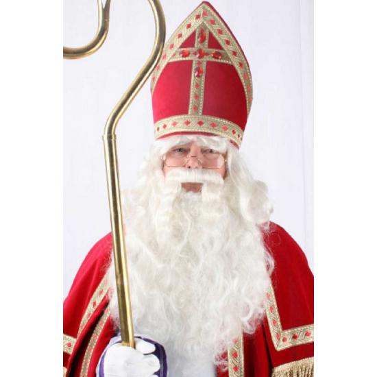 Sinterklaas pruik met baard thumbnail