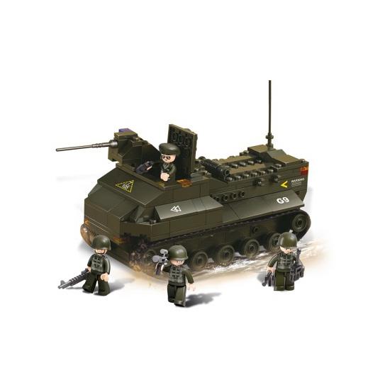 Sluban bouwstenen pantservoertuig