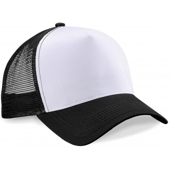 Snapback truckerpet zwart/wit (bron: Funenfeestwinkel)