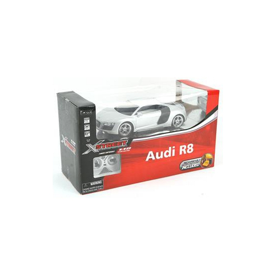 Speelgoed sport auto Audi R8 zilver