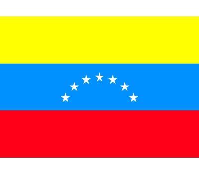 Stickertjes van vlag van Venezuela