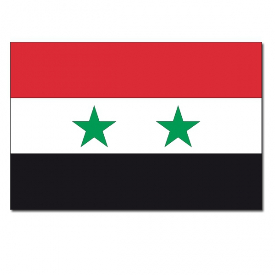 Syrische vlag 90x150 cm