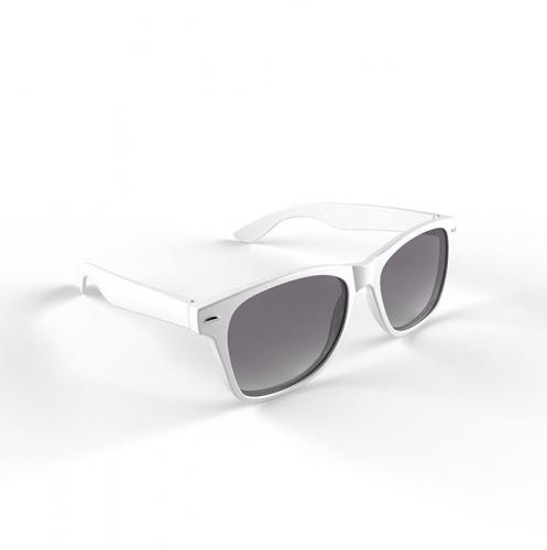 Trendy zonnebrillen wit (bron: Funenfeestwinkel)