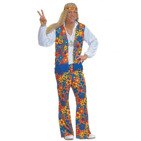 Verkleedkleding Hippie kostuum (bron: Funenfeestwinkel)
