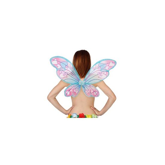Vlinder vleugels met hartjes (bron: Funenfeestwinkel)