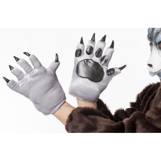 Wolven klauwen handschoenen voor volwassenen (bron: Funenfeestwinkel)