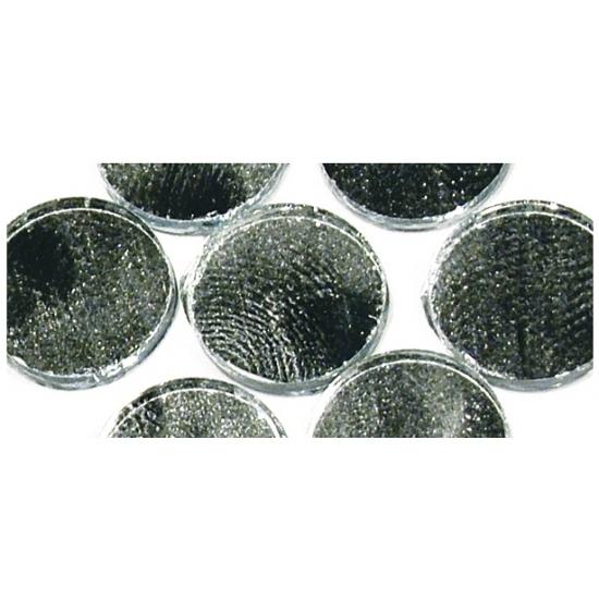 Zelfklevende mozaiek rond zilver