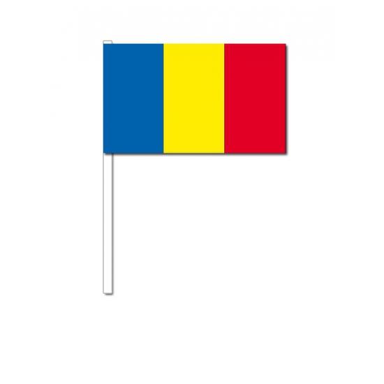 Zwaaivlaggetjes Roemenie (bron: Funenfeestwinkel)